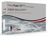 Fiber Bullets™ ‐ For MIS delivery, Expands to fill the site